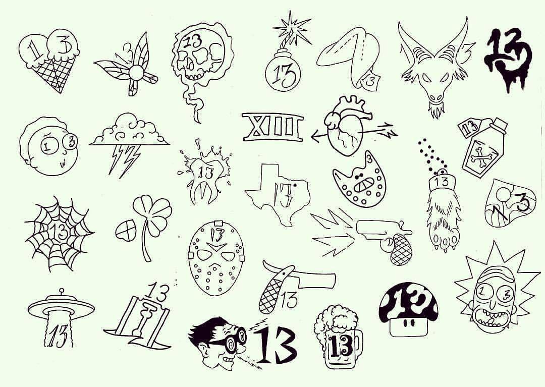 Tattoo friday the 13th tattoos