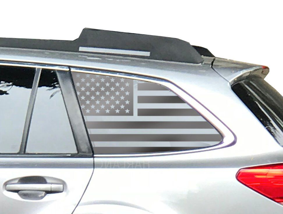 Subaru Outback American Flag Window Decals Fits 2015 2019 3 6r 2 5i Premium Usa Qb2 By Thepaddock Subaru Outback Subaru American Flag Decal