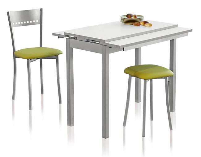 Mesa de cocina extensible a lo ancho cocina pinterest for Mesa cocina extensible ikea
