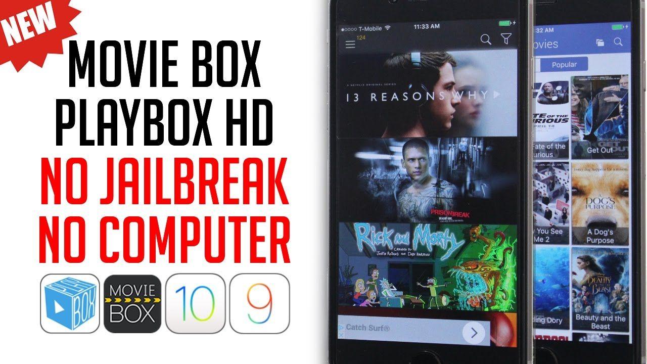 How To Get Movie Box & PlayBox HD iOS 10 3 1 - 10 / 9 Free