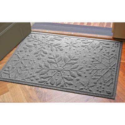Buy Weather Guardâu201e¢ X Snowflake Doormat In Dark Brown From Bed Bath U0026  Beyond