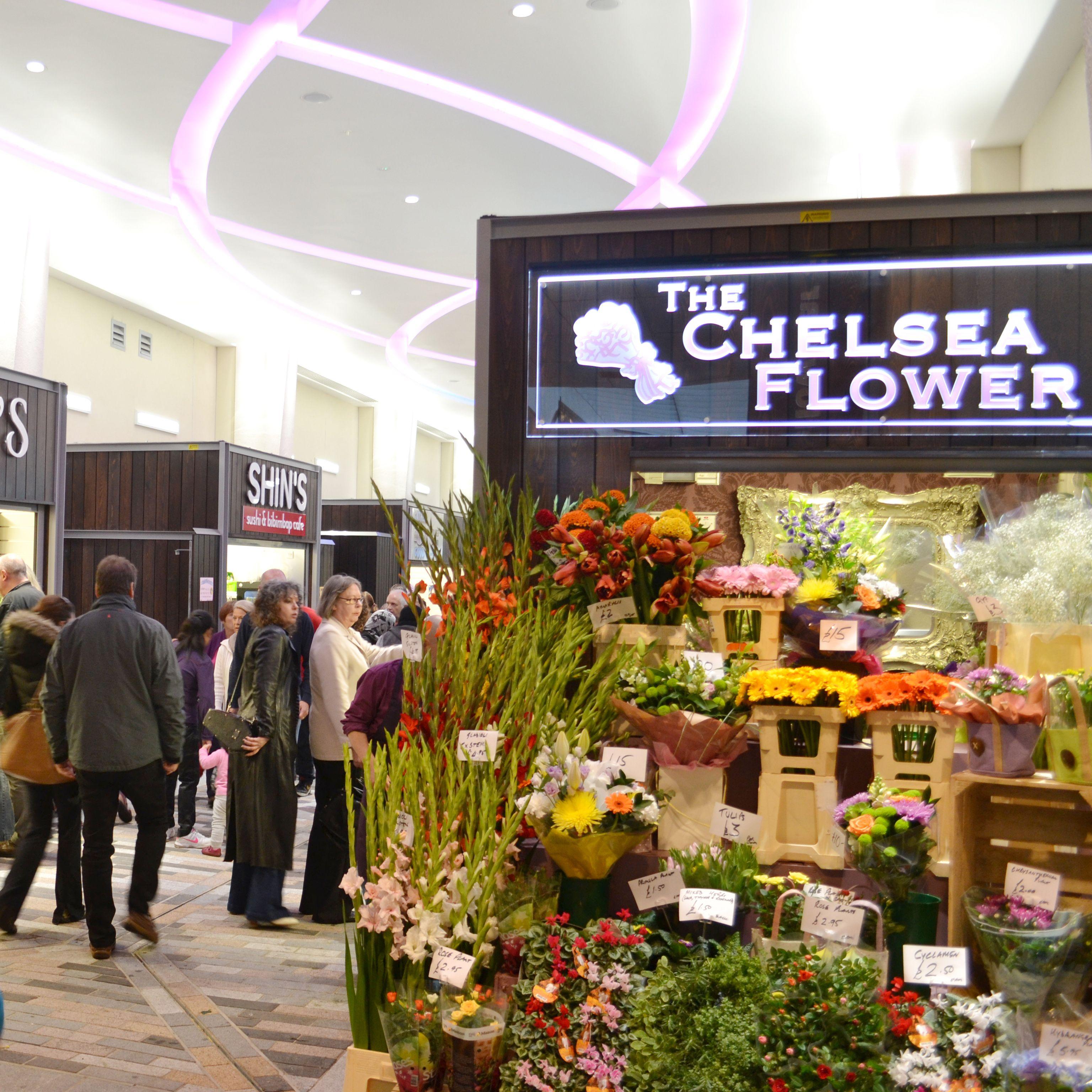 The chelsea flower shop in woking market walk offer their customers the chelsea flower shop in woking market walk offer their customers fresh bunches of flowers izmirmasajfo Gallery