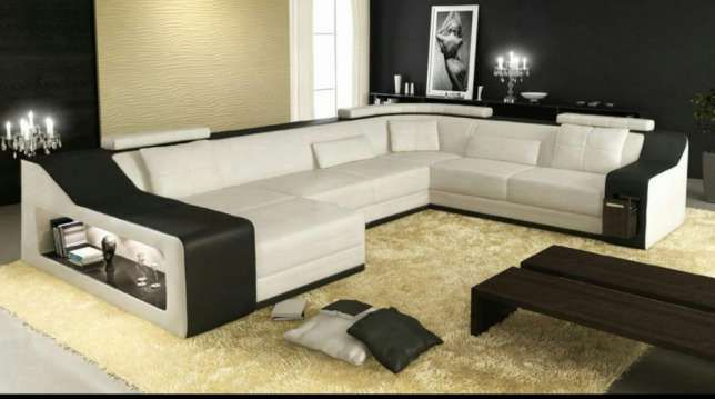 sydney modern leather sectional from opulent items