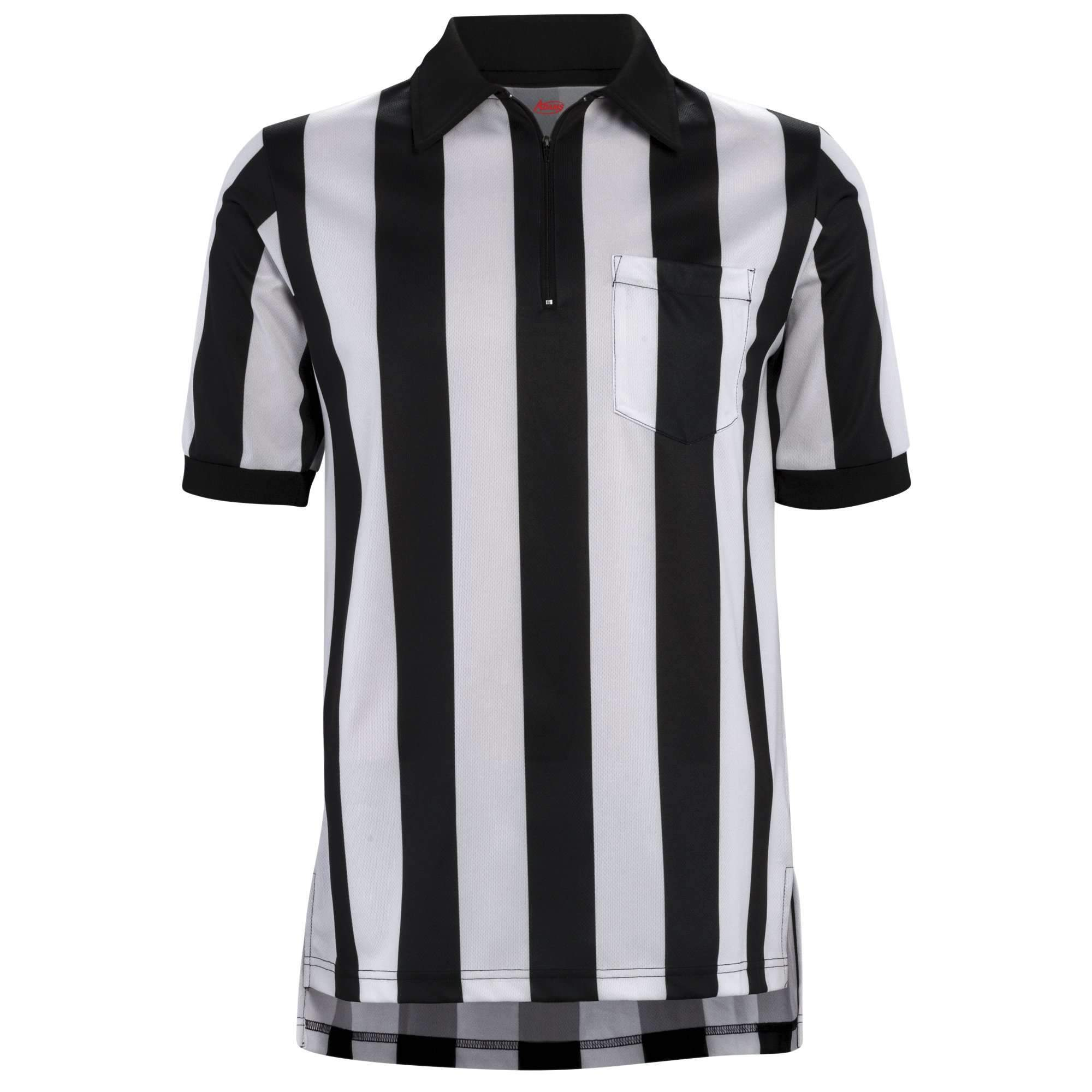 Adams 2 Stripe Short Sleeve Football Referee Shirt Jovenes