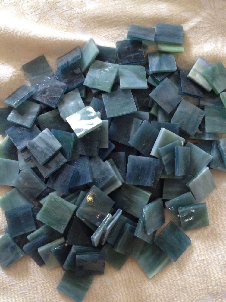 Jennifers Mosaics Terra Cotta 3//4-Inch Venetian Style Glass Mosaic Tile 8-Ounce