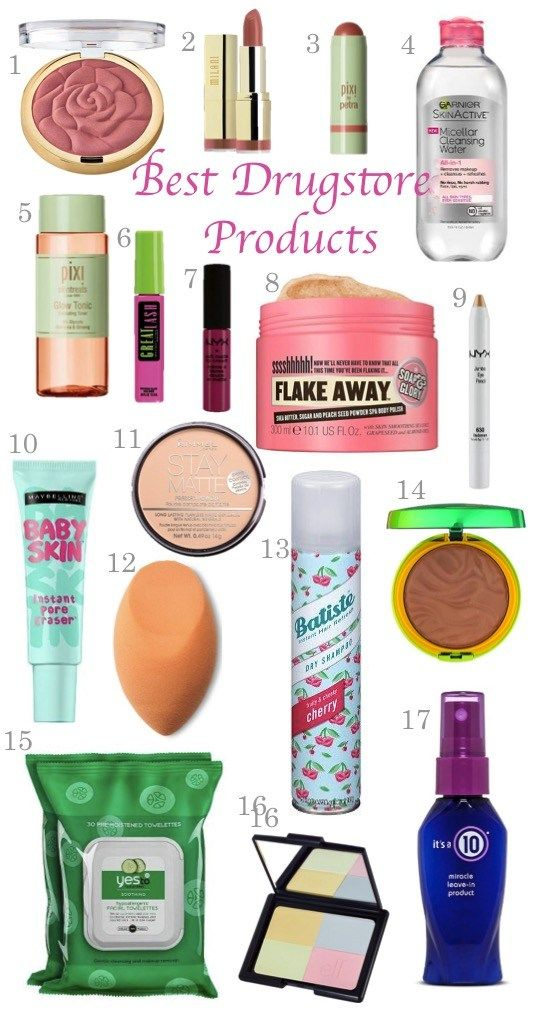Best Drugstore Products -