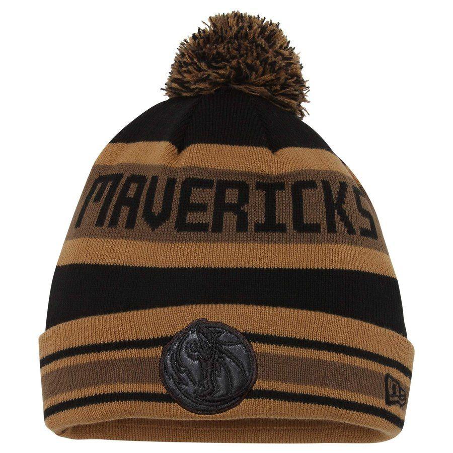 f4b87341fc99 Mens Dallas Mavericks New Era Brown Jake Knit Hat, Sale: $8.99 - You Save:  $14.00