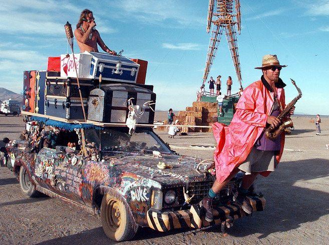 burning man*mad max*Nevadskej púšti Black Rock Desert