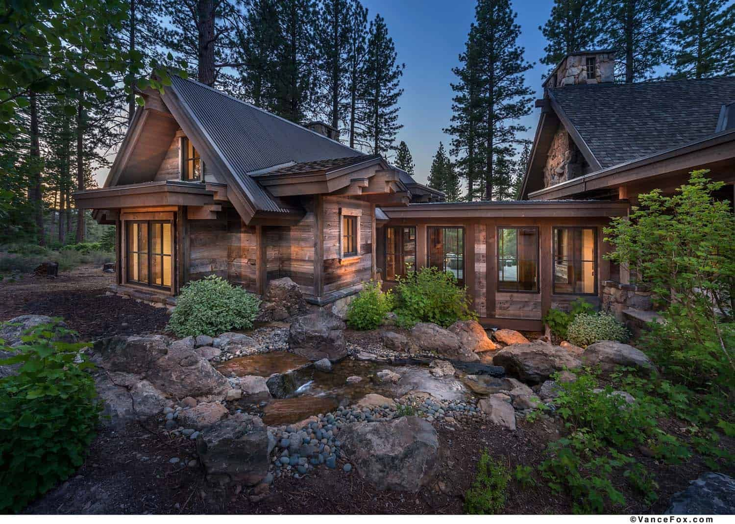 Wonderful Rustic Mountain Farmhouse Retreat In Scenic Martis Valley Mountain House Plans House Plans Farmhouse Mountain House