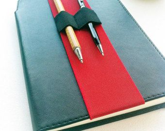 Stylus Holder Journal Pen Holder Pen Holder Planner by Wrapsodic