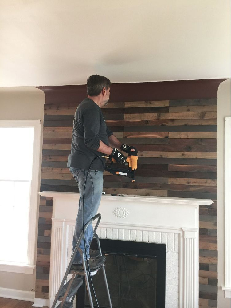 Quick And Easy Fireplace Update More