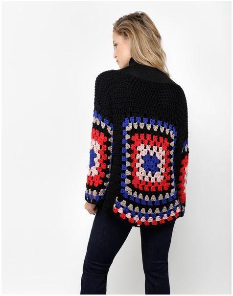 Crochet Sweater + Diagram