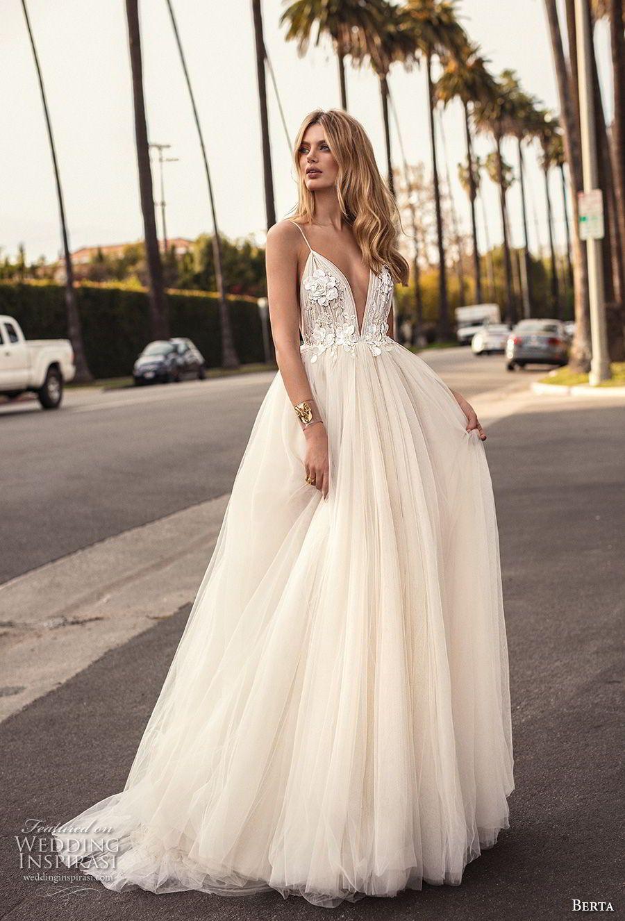 Muse von Berta 16 Brautkleider  Dream wedding dresses, Backless