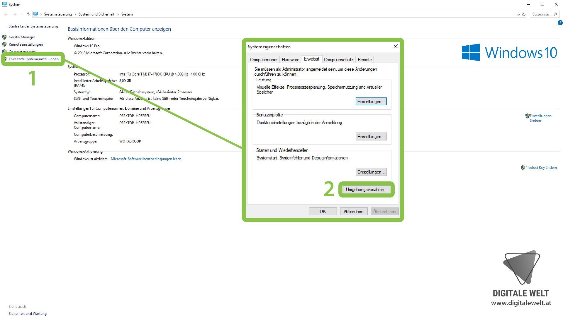 Openhab 2 Auf Einem Windows Pc Installieren Digitale Welt Schritt Fur Schritt Anleitung Und Anleitungen