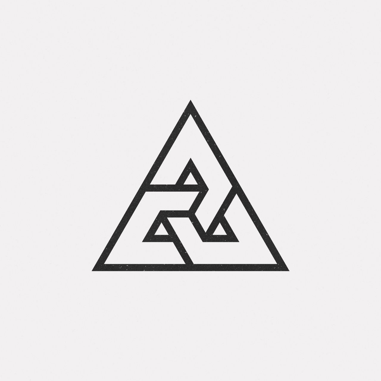 Ju16 616 a new geometric design every day pinteres for Minimal art logo