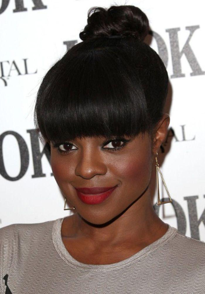 Astonishing 1000 Images About Updo Hairstyles For Black Women On Pinterest Short Hairstyles For Black Women Fulllsitofus
