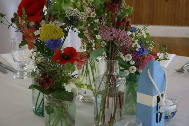 reception flowers: june 2013