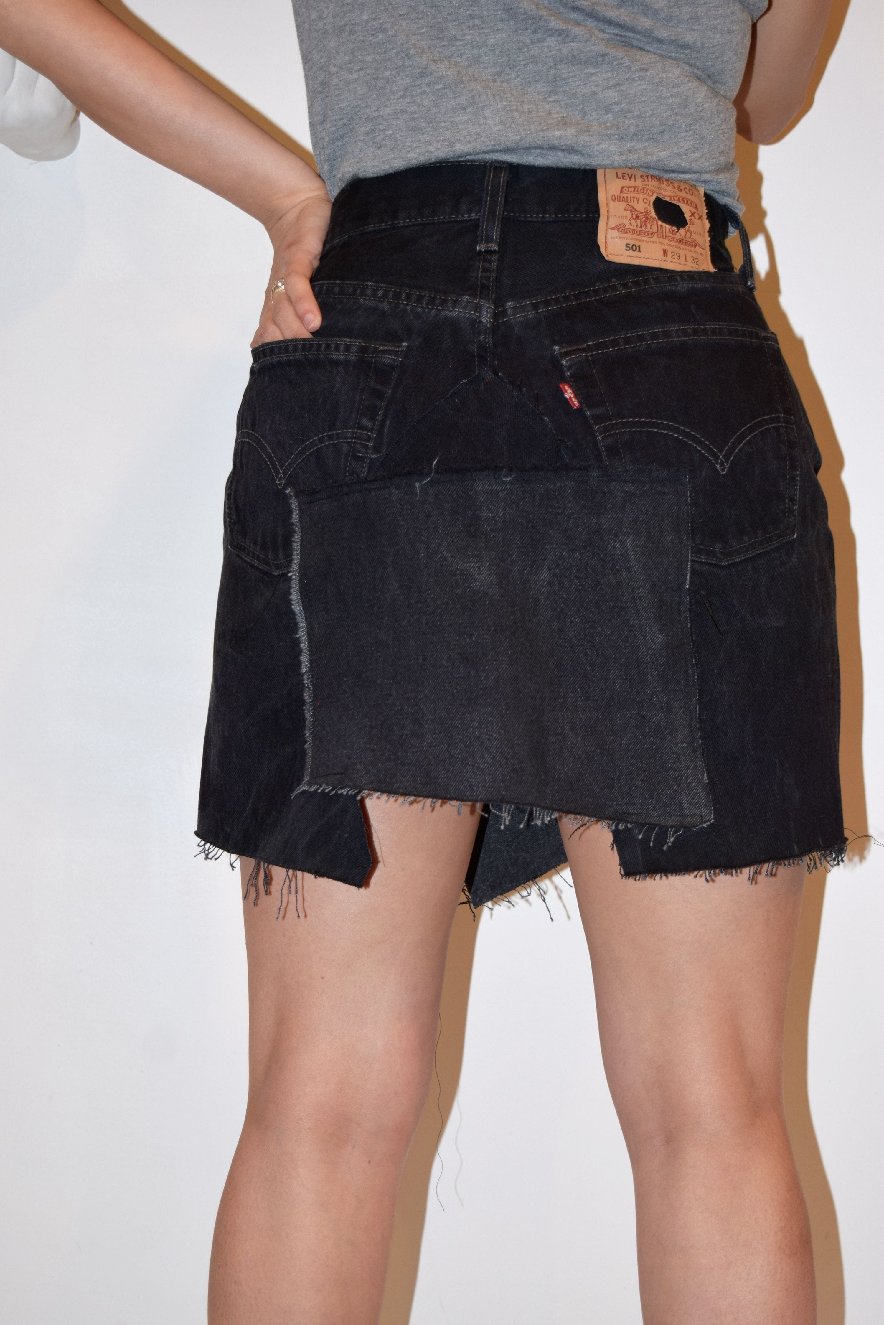 Long Levi denim skirts pictures best photo