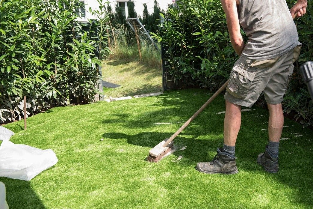 Helpful tips for maintaining synthetic grass in your own