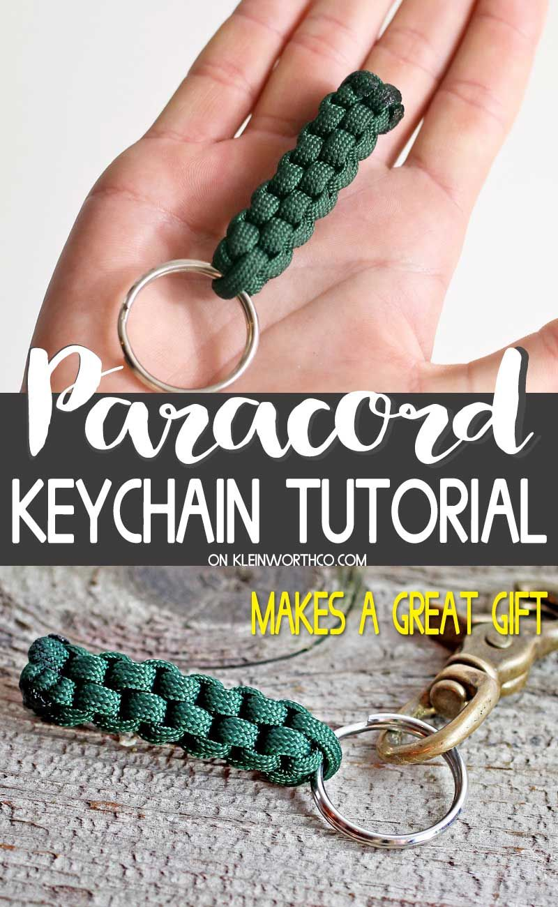 Make This Paracord Survival Keychain With This Easy To Follow