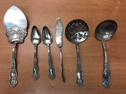 Other Antique Furniture Spanish Baroque By Reed And Barton Sterling Silver Flatware Set Service Dinner Commodities Are Available Without Restriction Antiques
