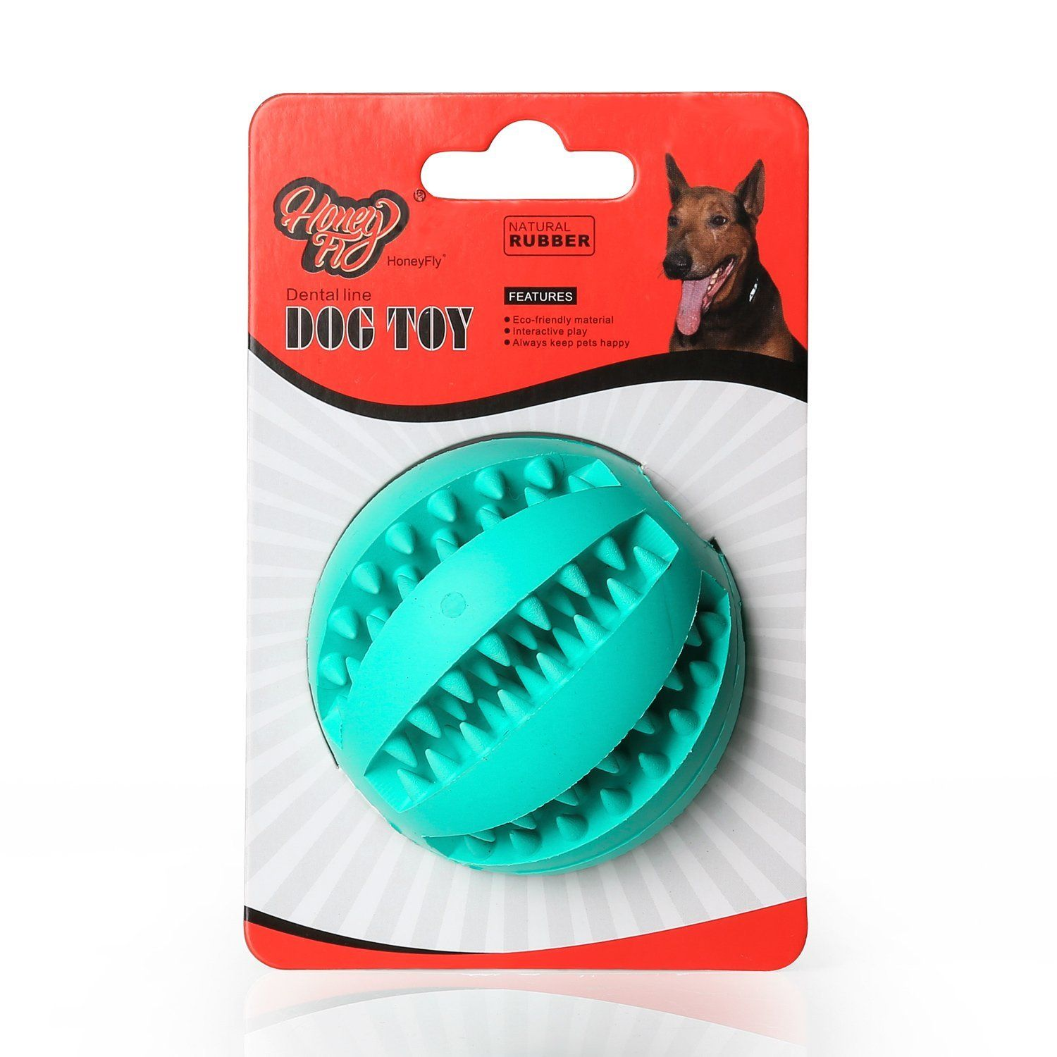 Dog Chew Toys Top Natural Rubber Dog Ball Toys Best for Aggressive