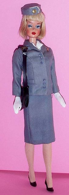 "Vintage ""Pan Am"" outfit on an American Girl - mid Sixties"