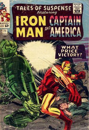Tales of Suspense 71. Por Jack Kirby y Wally Wood. #IronMan #TalesOfSuspense #JackKirby