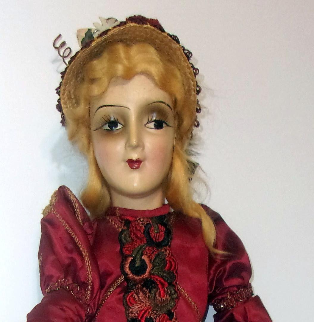 Beautiful Antique Boudoir Doll 28 Boudoir Dolls Antiques Antique Dolls