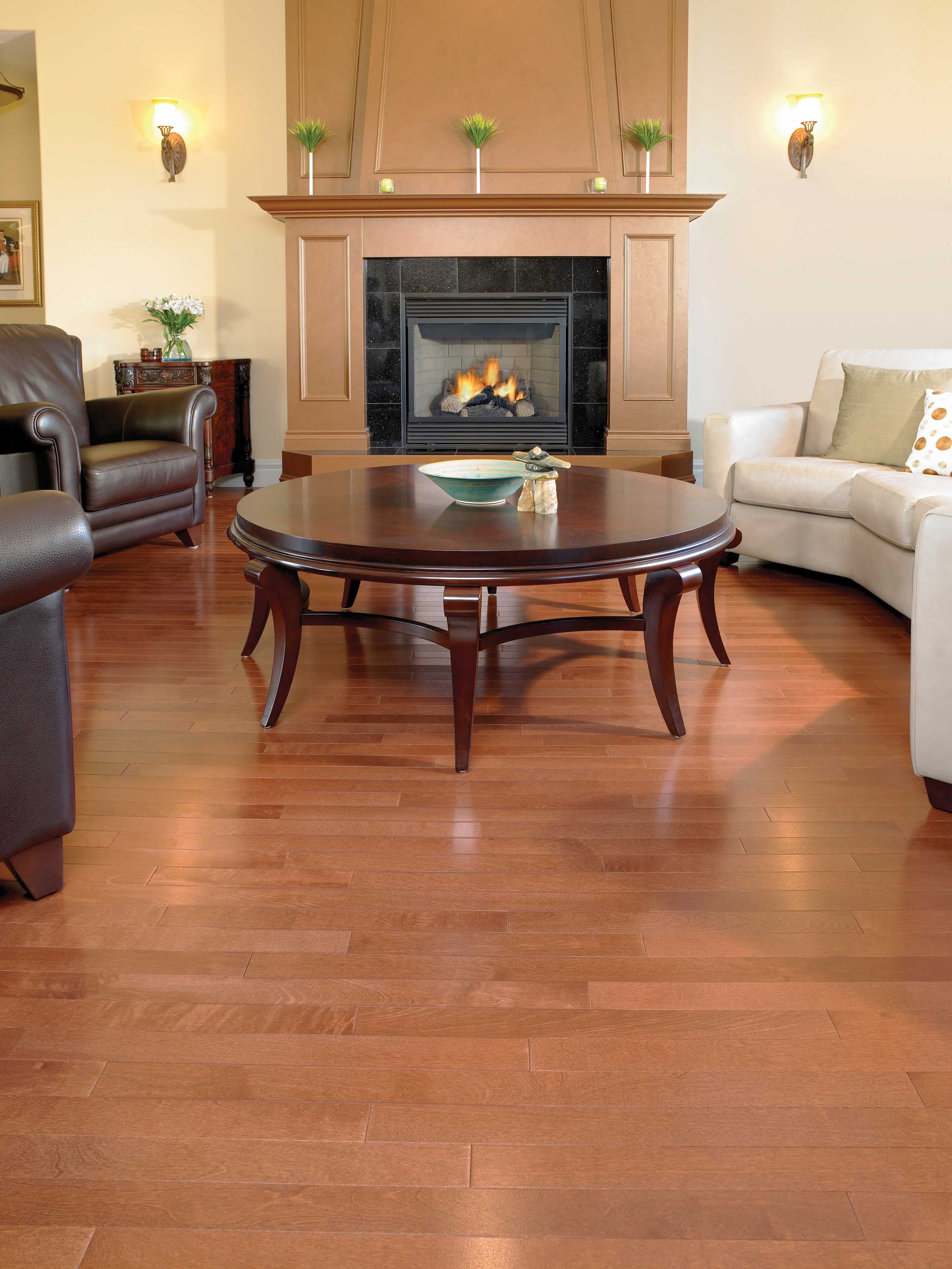 Yellow Birch Cognac Waterproof laminate flooring, Cheap
