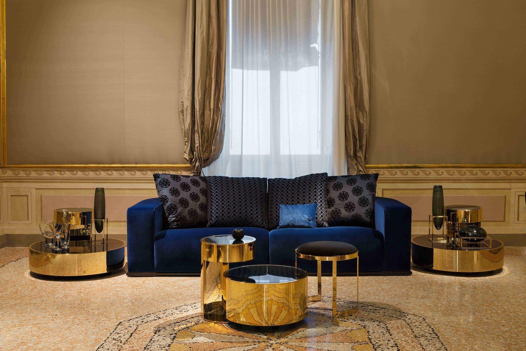 244affbbd036 FENDI CASA BY DMHOME Memoire 3 seater sofa Constellation tables Anya  ottoman FENDI CASA by DMHOME