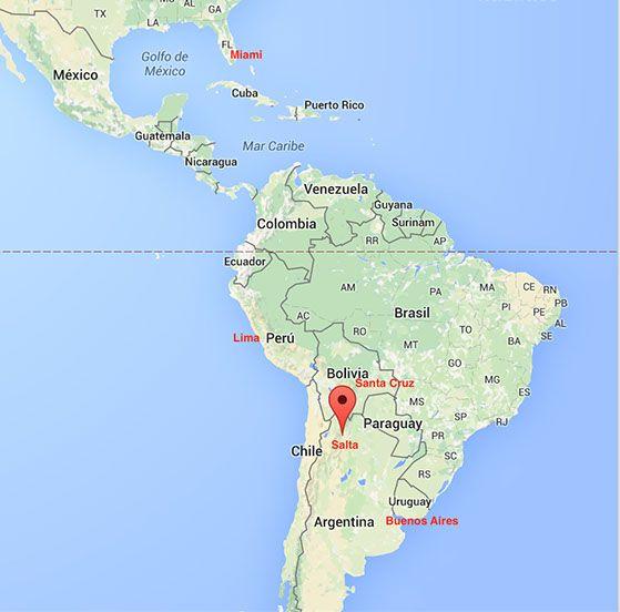New nonstop flights to Salta from Lima and Santa Cruz Bypass Buenos