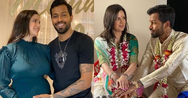 Hardik Pandya And Natasa Stankovic Are Expecting Their First Child Check Photos In 2020 Expecting Baby Celebrity Weddings Engagement News