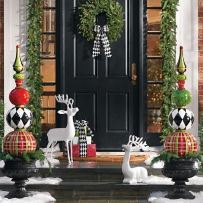 Harper Holiday Topiary | Christmas topiary, Holidays and Resin