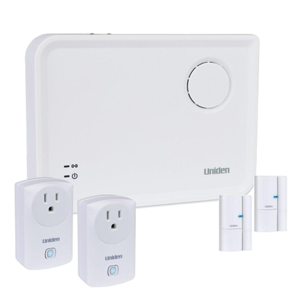 Uniden Ushc41 Apphome Smart Home Security System W Gateway Window