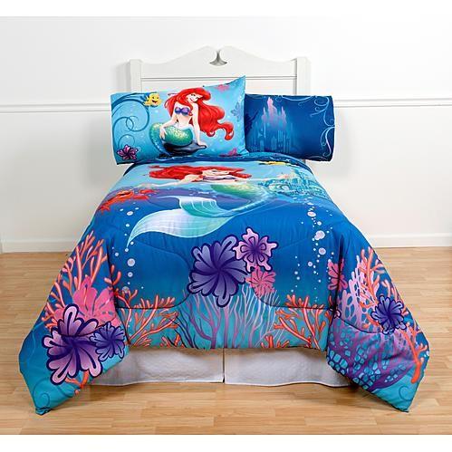 Disney Magical Mermaid Comforter Twin, Mermaid Bedding Twin