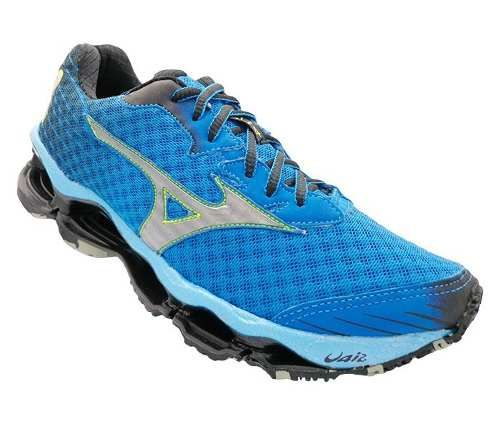 tênis mizuno wave prophecy 4 azul royal  d5ba691466895