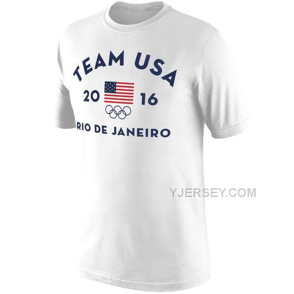 http://www.yjersey.com/team-usa-rio-tshirt-white.html Only$27.00 TEAM USA RIO T-SHIRT WHITE Free Shipping!
