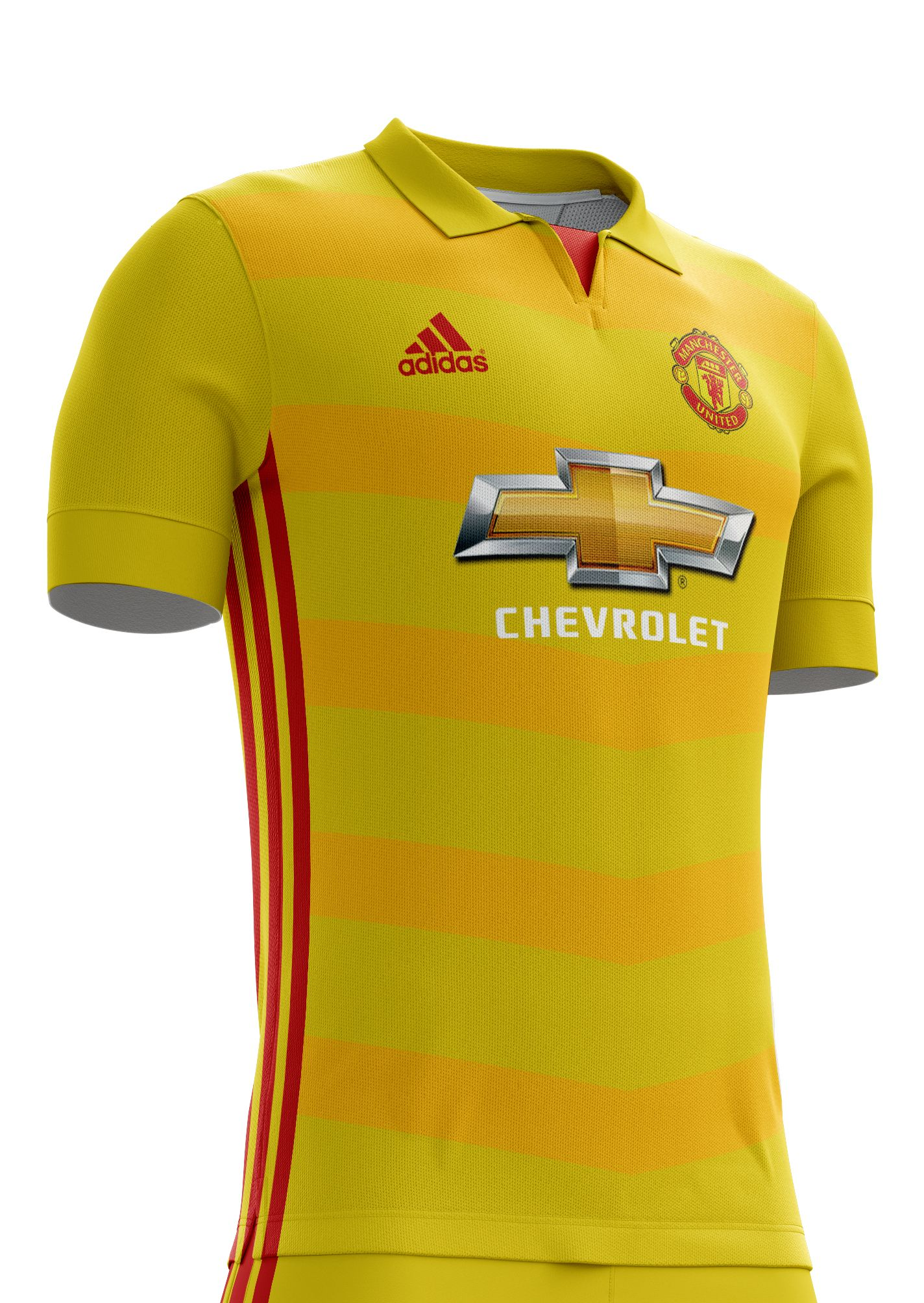 the best attitude 14ac9 4cd8e Some of you ask me to design Manchester United kits,sow I ...