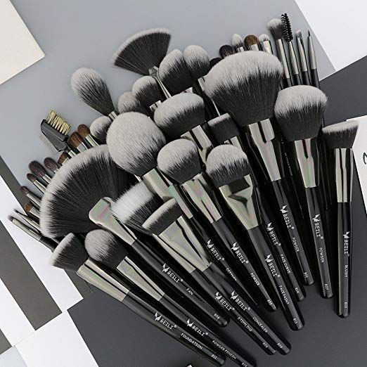BEILI Pro Signature 40 Stück Make-up Pinsel Set - Makeup Natural -  BEILI Pro Signature 40 Stück Make-up Pinsel Set – Makeup Natural  - #BEILI #Makeup #makeupbrushes #natural #Pinsel #Pro #Set #SIGNATURE #Stück