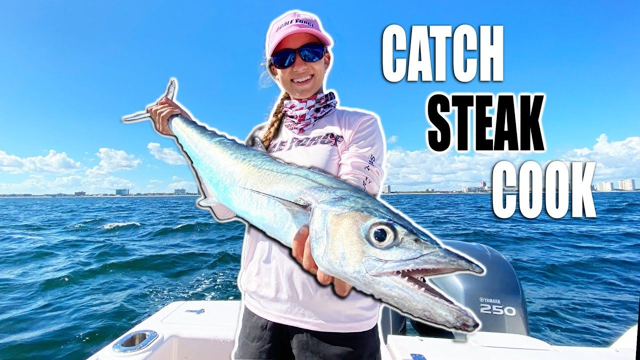 How To Catch Kingfish Trolling With Wind On Planer Catch Clean Cook Catch Planer How To Cook Steak