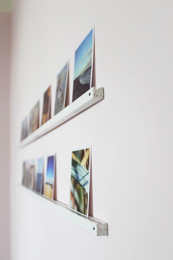 diy fotos mit einer mini bilderleiste in szene setzen sch n und fein wohnen. Black Bedroom Furniture Sets. Home Design Ideas