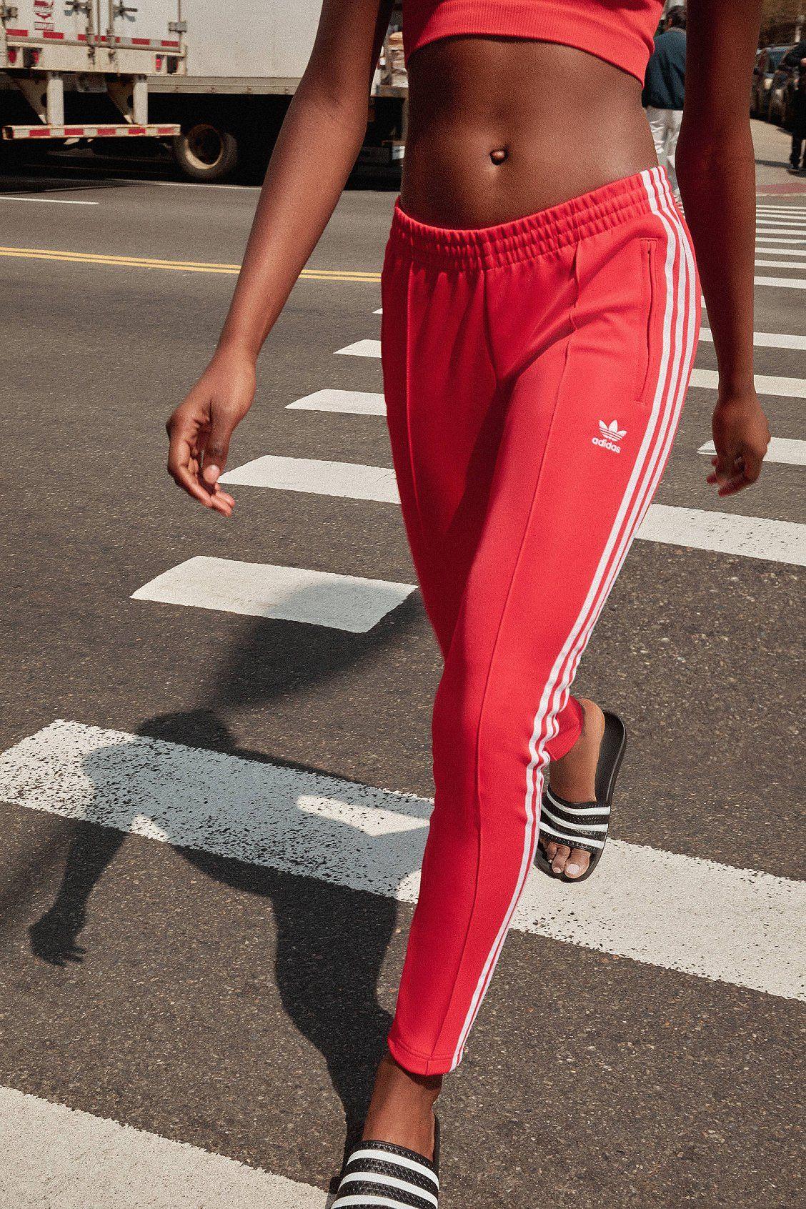 adidas Originals Superstar Trefoil Track Pant (met ...