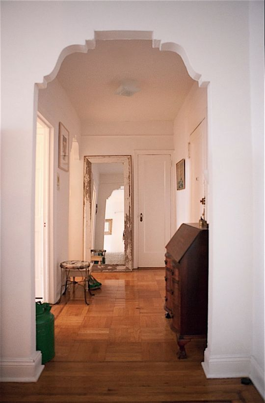 Ann\'s East Village Aerie | Pinterest | Arch, Studio apartment design ...