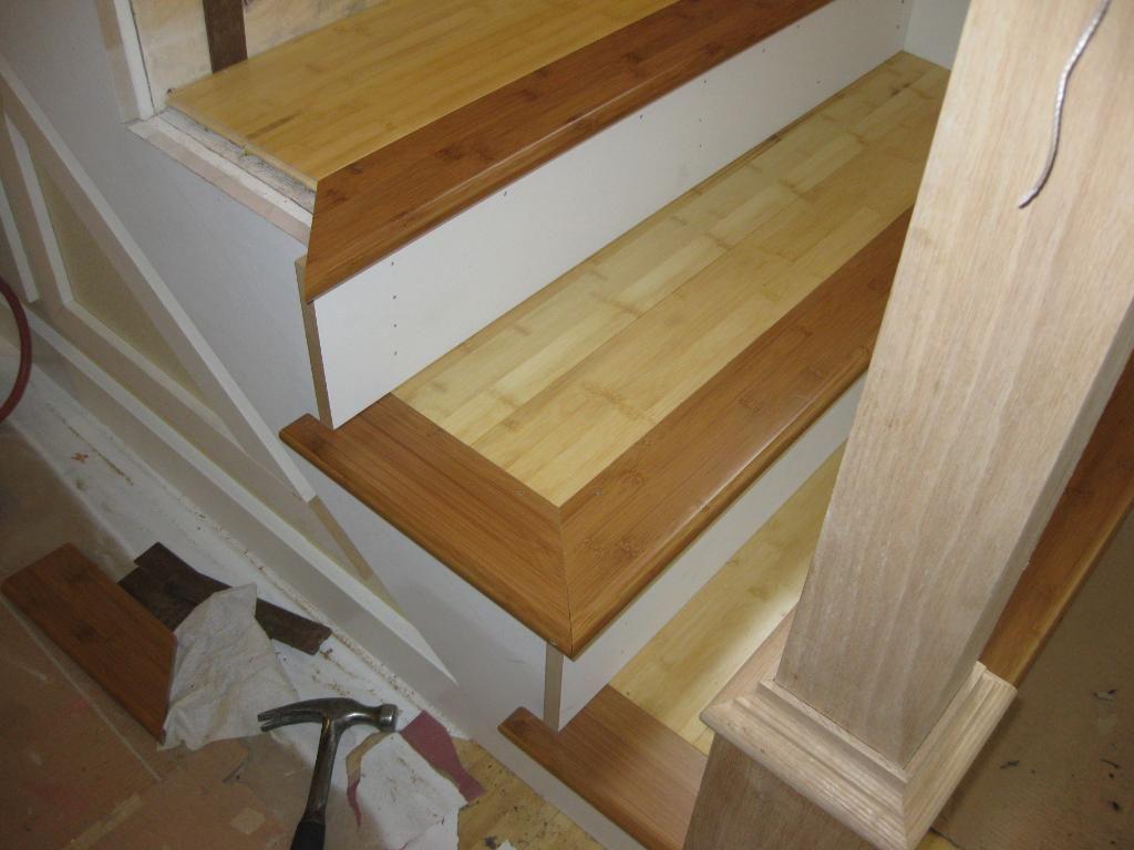 How to install bamboo flooring on stairs gurus floor for Installing bamboo flooring