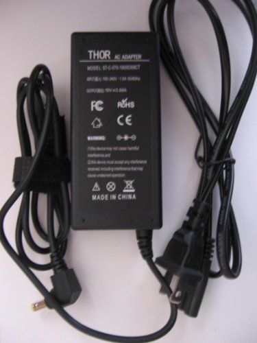 Hot new release thor replacement laptop ac power adapter cord for thor brand replacement ac power adapter cord for toshiba satellite laptop pc power supply cord charger greentooth Choice Image