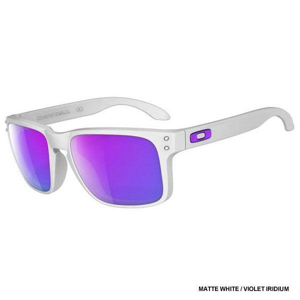Purple Oakley Holbrook