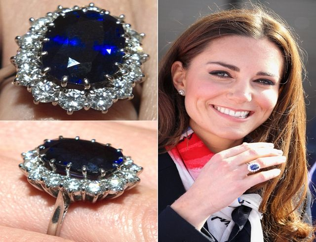 Kate middleton engagement ring worth Pins Brooches and Things