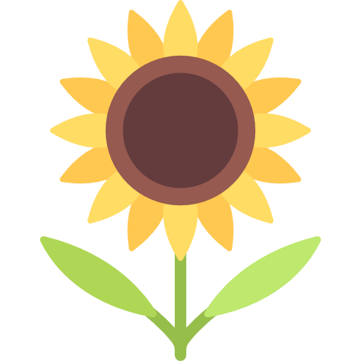 Sunflower Free Vector Icons Designed By Freepik Free Icons Flower Icons Vector Free