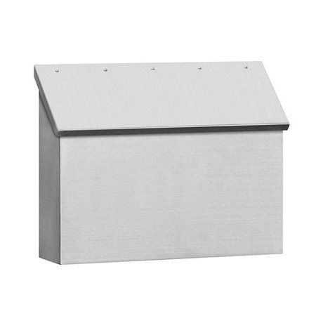 Home Improvement Stainless Steel Mailbox Mounted Mailbox Wall Mount Mailbox